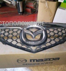 Решетка радиатора мазда3 седан