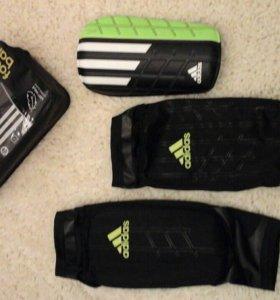 Футбольные щитки с держателями (Adidas)