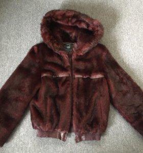 Стильная шубка-куртка