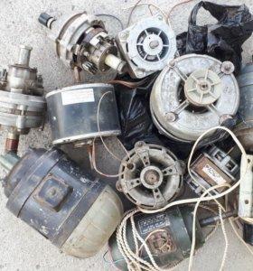 Электродвигатели 220В, 380В