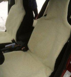 Накидки из овечьей шерсти в авто от производителя
