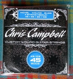 Струны Chris Campbell Electric Bass Medium 45-105