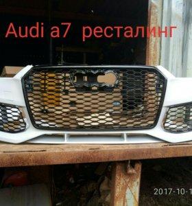 Бампер. Audi a7