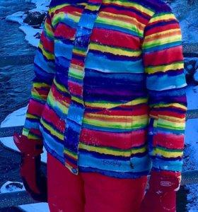 горнолыжный костюм для девочки рост 160см