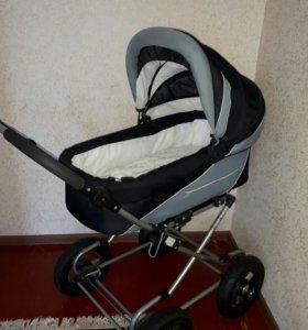 Детская коляска-люлька+ прогулочная