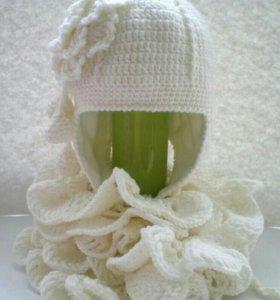 Шапочка и шарфик для принцессы