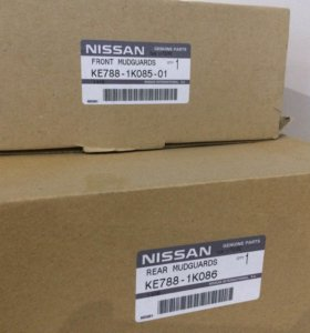 Брызговики Nissan Juke (оригинал)