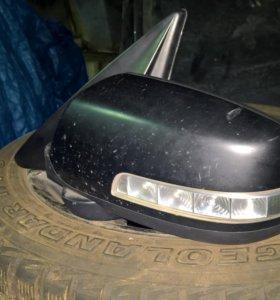 Kia sorento [XM] 2009-2013г. Зеркало левое