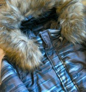 Куртка LUHTA на мальчика зимняя, 38р.