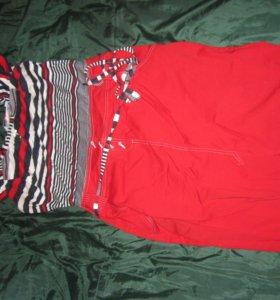 платье красное 48 размер