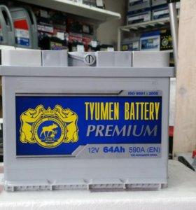 Аккумулятор Тюмень Premium 64L/R