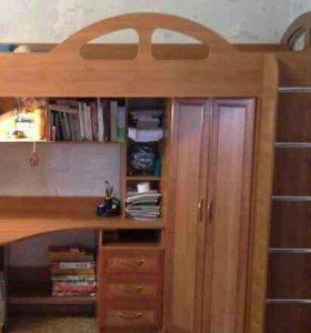 Кровать+копм.стол