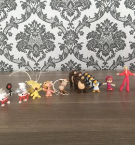 Игрушки из Киндер-сюрприз