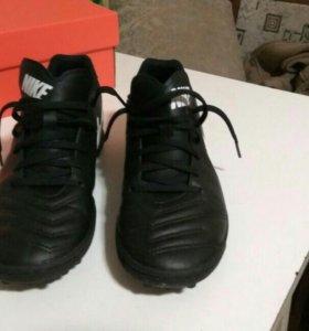 Футбольные шиповки Nike TiempoX Rio 3