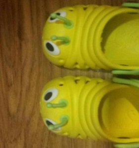 Тапочки крокетсы