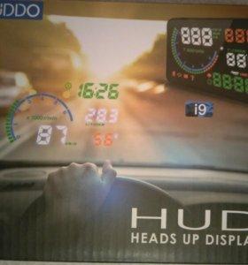Hud проектор приборов на лобовое стекло