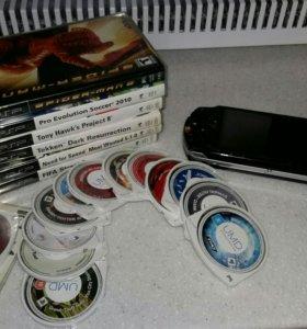PlayStation Portable (PSP) FAT + 20 игр