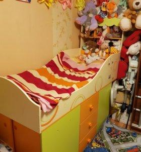 """Срочно! Детская кровать-чердак """"фруттис"""""""