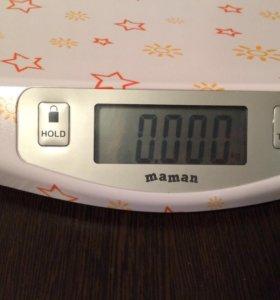 Весы для новорождённого электронные