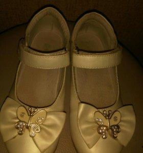 Туфли 🌷девичьи