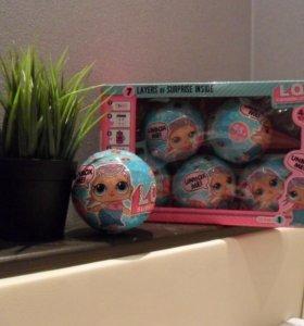 Набор кукол в шарике LoL (лол) surprise,6 шт + дос
