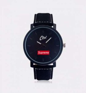 Supreme x Clot часы