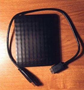 внешний диск maxtor m3 portable 2 ТБ, новый