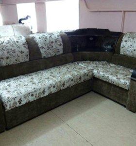 """Новый угловой диван """"Велена"""" с баром"""