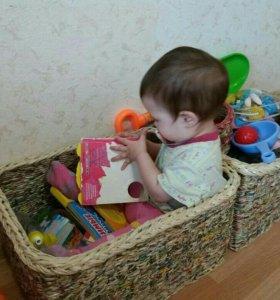 Корзины для игрушек и не только