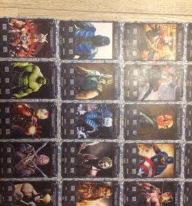Карточки Мортал Комбат коллекция №8 без 3 карт