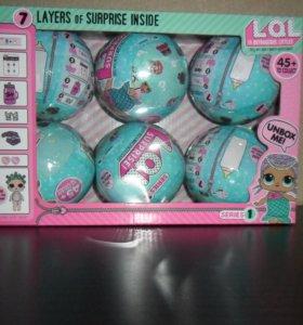 Набор кукол LoL (лол) surprise,6 шт + доставка