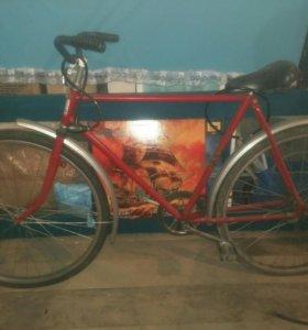 Велосипед с рамой