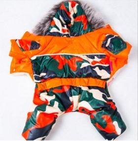 Водонепроницаемый комбинезон (зимний) одежда собак