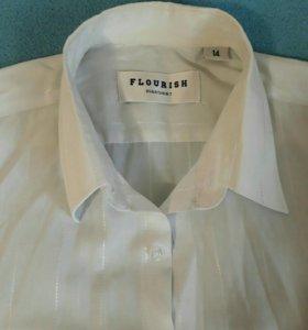 Рубашки школьные 100 и 150 рублей