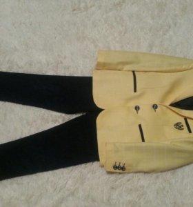 Стильный пиджак для стиляги и брюки к нему