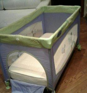 Манеж-кровать JETEM