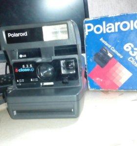 Polaroid Instant Camera. 636 Closeup.