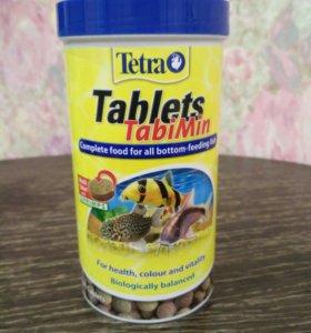 Корм для всех видов донных рыб в таблетках