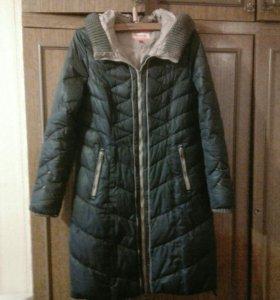 Пальто зимнее женское р.48 в отличном состоянии