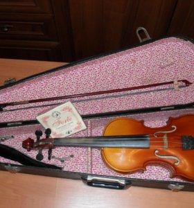 Скрипка 3/4 в футляре
