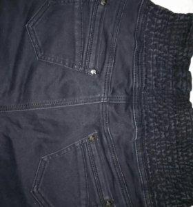 Джинсовые стрейчевые штаны 48-50р.