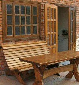 Мебель для сада,двора,а также для бани и сауны