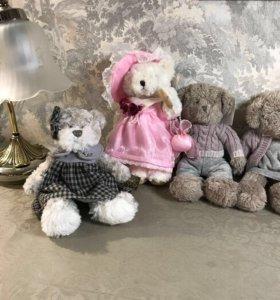 Мишки в платьях новые