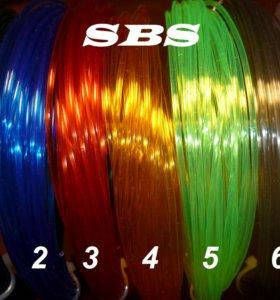 Пластик для 3Д ручки ABS, PLA, SBS