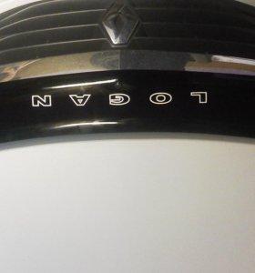 Дефлектор капота рено логан
