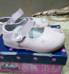 Туфли детские,22 размер.