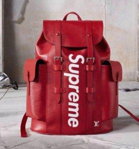 Рюкзак supreme Louis Vuitton