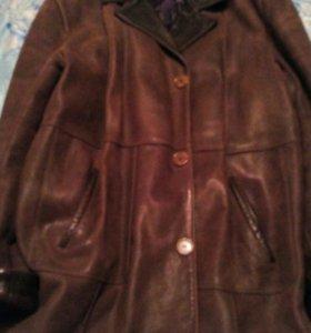 Мужская кожанная куртка большой размер,торг.