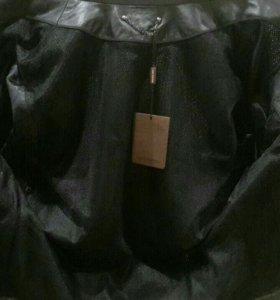 Кожанная куртка louis Vuitton