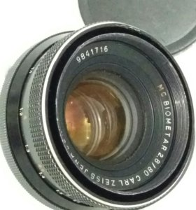 Carl Zeiss MC BIOMETAR 80/2,8 ср.форм PENTACON Six